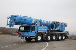 Uusi Liebherr LTM 1130-5.1 täydentää nosturikalustoamme