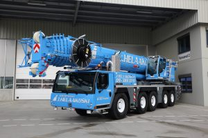New fleet to our comprehensive selection! – New Liebherr LTM 1160-5.2