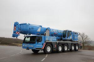 Jälleen vahvistusta nosturikalustoon – uusi 200 tonninen Liebherr LTM 1200-5.1