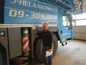 Nimitysuutinen: Huoltopäällikkö Juha Ylipeltola