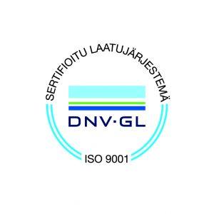 Nostopalvelu J. Helaakoski Oy:lle myönnettiin ISO 9001:2015 -laatusertifikaatti
