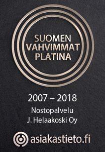 Suomen Vahvimmat Platina 2007-2018