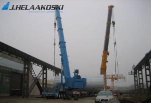 LTM 1500 Narvan voimalatyömaalla