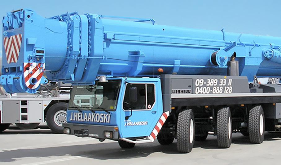 Cranes 250 – 750 tons